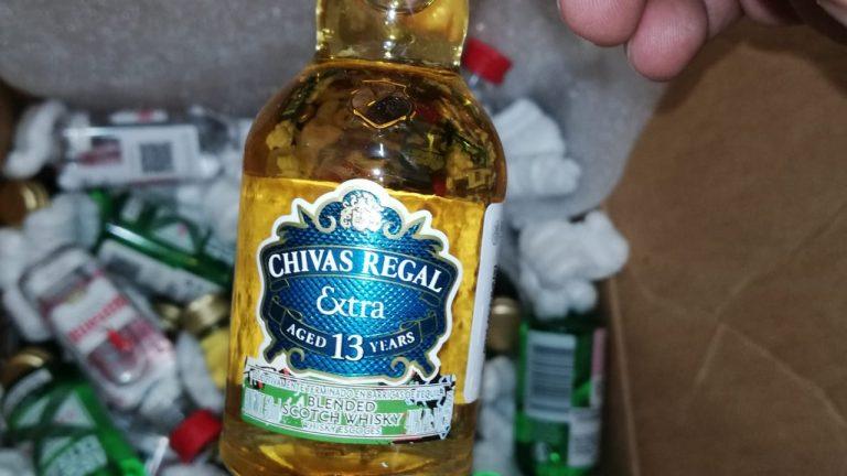 Botellita miniatura Chivas