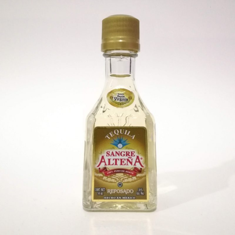 Tequila Sangre Alteña Reposado