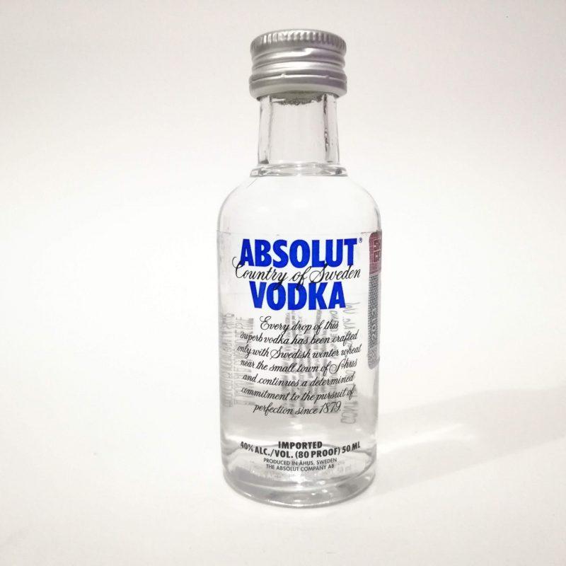 Vodka Absolut Azul