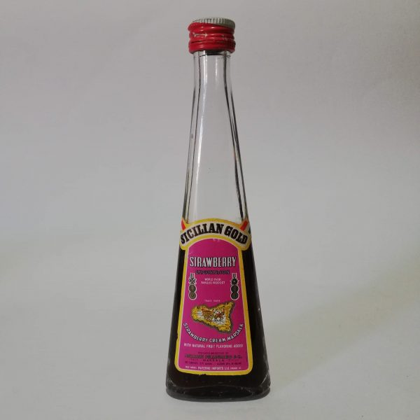 Licor Sicilian Gold Strawberry